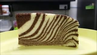 Zebra Print Ogura Cake