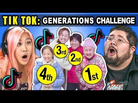 AMERICAN Generations React To CHINESE Generations TikTok Meme Compilation