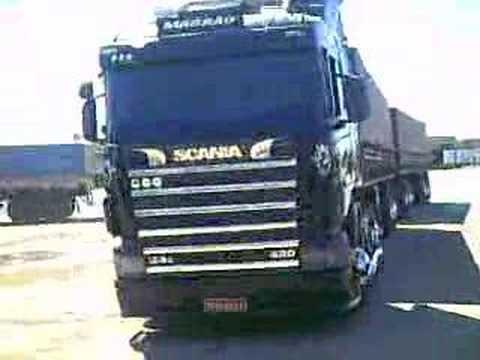 Scania 124 420 apavorando part. 2