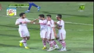 أول اهداف  طارق حامد الرسمية مع  الزمالك  في دمنهور