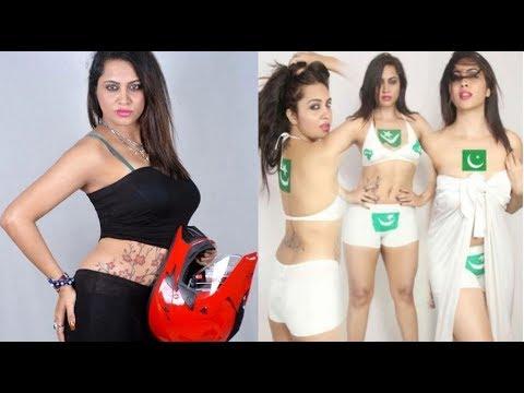 Xxx Mp4 অর্ধনগ্ন শরীরে পতাকা এঁকে ছবি তোলায় আরশির বিরুদ্ধে গ্রেফতারি পরোয়ানা Arshi Khan Pakistani Flag Pic 3gp Sex