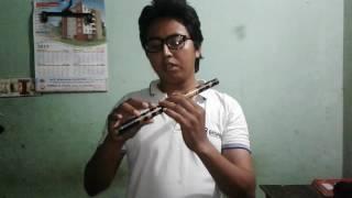 সহজে বাঁশি শিখুন Easy Flute Lessons ( Tutorials ) For Beginner : 2 In Bangla By Nahid Hasan