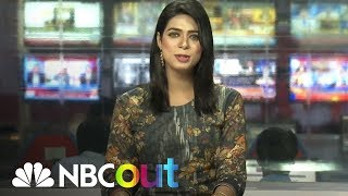 Transgender TV Anchor Challenges Pakistani Culture From A News Desk | NBC Out | NBC News