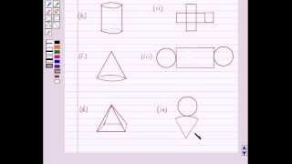 Example: Identify Nets of Solids