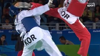 Ahmad Abughaush from Jordan Taekwondo Best moment olympic games Rio 2016