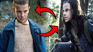 Eleven ''Once'' Vs Laura ''X23'' ¿Quién Gana? - Logan , Stranger Things