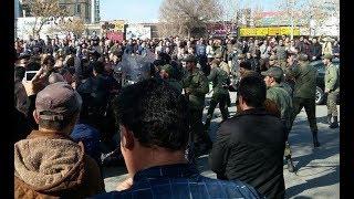 ثورة إيران تتسع وتجتاح أغلب المدن..نظام الأسد وحزب الله وبقية الميليشيات في خطر حقيقي