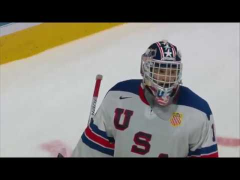2017 WJC: Highlights from USA's 4-3