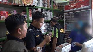 Operasi Pasar Pencegahan Rokok Ilegal di Jambi