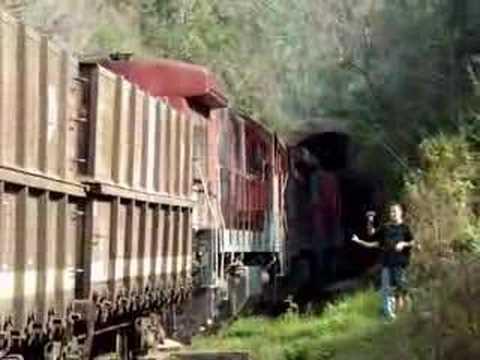 Triplex de C30 7 Ferrovia do trigo