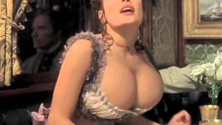 Salma Hayek Breast expansion
