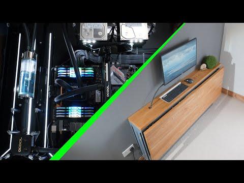 Building a spectacular DIY desk PC it can fold