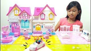 Mainan Rumah Rumahan 💖 My Happy Family Sweety Home 💖 Let's Play Jessica 💖