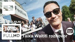 53. MFF Karlovy Vary 2018 - rozhovor Taika Waititi