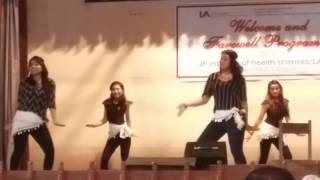 hindi remix dance in LA college