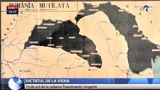 74 de ani de la Dictatul de la Viena, când Transilvania a fost cedată Ungariei
