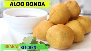 Aloo Bonda | Perfect Restaurant Style Aloo Pakora - Recipe by bharatzkitchen
