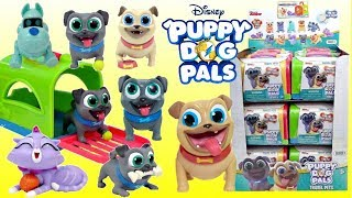 NEW Disney Jr PUPPY DOG PALS Travel Pets Blind Bags FULL CASE Bingo Rolly Hissy A.R.F Surprise Toys
