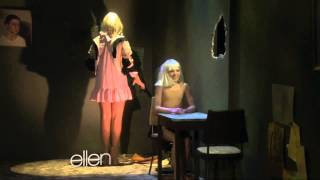 Maddie and Sia on Ellen