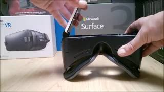 Utiliser Samsung Gear VR 2016 avec Lumia 950 XL