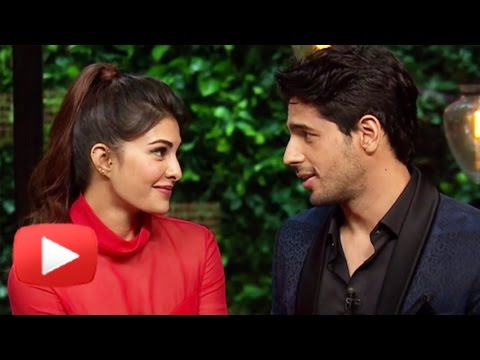 Xxx Mp4 Jacqueline Fernandez Sidharth Malhotra Koffee With Karan Season 5 Episode 10 BEST MOMENTS 3gp Sex