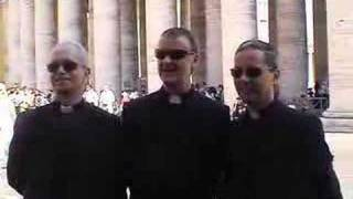 The Priests visit the Vatican