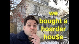 Part 1. We bought a hoarded house! 100 years of stuff! what will we find???
