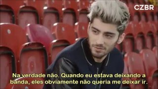 Zayn Malik sobre deixar a One Direction. [LEGENDADO] #CZBRVideos