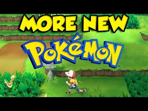 Xxx Mp4 MORE New Pokemon In Pokemon Let S Go Pikachu And Eevee 3gp Sex