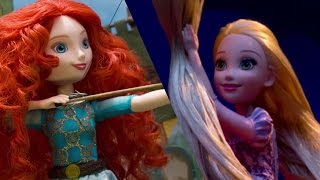 Disney Princess Theater with Royal Shimmer Dolls | Disney Toy Adventures | Disney