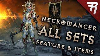 NECROMANCER GAMEPLAY: All sets! Legendary preview! (Diablo 3 2.6 beta)
