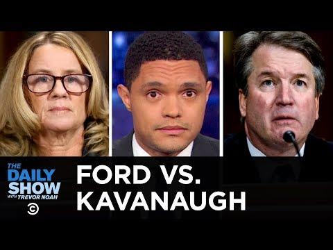 Dr. Christine Blasey Ford Testifies Against Brett Kavanaugh | The Daily Show