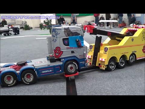 Rc Trucks Leyland JANUARY 2017 Part 1 AMAZING Tamiya Rc Scale Truck Carson Wedico Bruder
