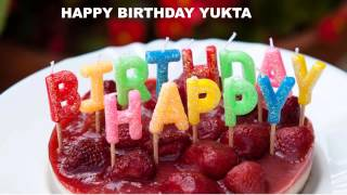 Yukta   Cakes Pasteles - Happy Birthday