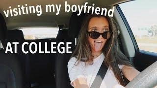 driving 5 hours to visit my boyfriend!