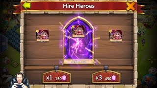 Trixie Treat On My MAIN How Many Gems Does IT TAKE?  Castle Clash