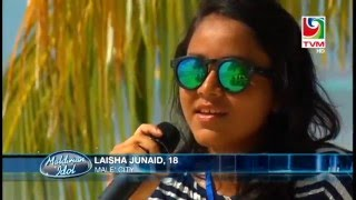 Maldivian Idol Theater Round_Individual Performace_Laisha Janaid