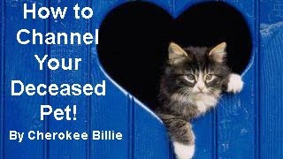 How to Channel Your Deceased Pet! by Cherokee Billie