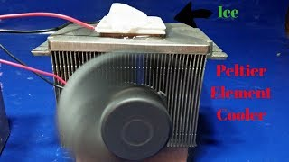 Thermoelectric peltier element cooler  generator  heater new technology