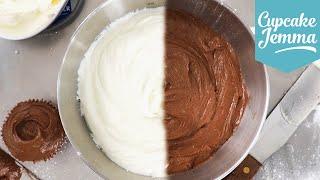 Cream Cheese Icing Masterclass! Classic & Chocolate recipes | Cupcake Jemma
