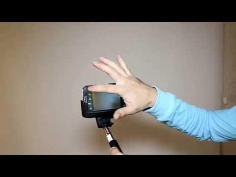 Selfie Çubuğu Nasıl Kullanılır