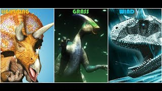 Dinosaur King Lightning Wind and Grass Dinosaurs Tribute/So Alive