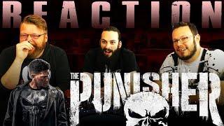 Marvel's The Punisher | Official Trailer REACTION!!