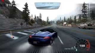 Need For Speed Hot Pursuit (2010) - Eagle Crest - First Offence 720p  PC Gameplay with FPS