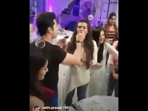 Xxx Mp4 Kratika Dheer Birthday Celebrations On Kasam Set With Sharad Malhotra Karan Godhwani Cast 3gp Sex