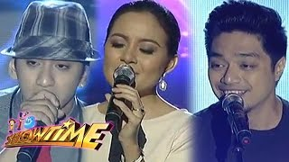 Duncan, Sitti, & Nyoy serenade madlang people on It's Showtime
