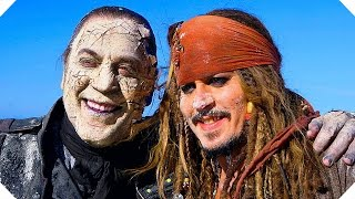 Go Behind the Scenes of PIRATES OF THE CARIBBEAN 5 with Johnny Depp !
