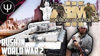 ARMA 3: Iron Front 1944 Mod — RUSH in World War II!