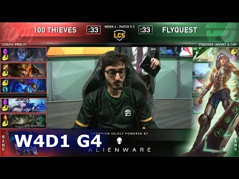 Xxx Mp4 100 Vs FLY Week 4 Day 1 S9 LCS Spring 2019 100 Thieves Vs FlyQuest W4D1 3gp Sex