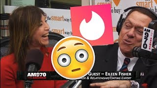 Swipe Right on REAL Dating - Matchmaker Eileen Fisher on The Joe Piscopo Show 12 Feb. 2019